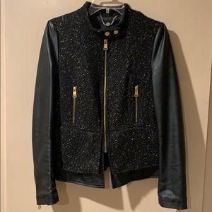 🖤 Bebe Mod Black Jacket w/Peplum